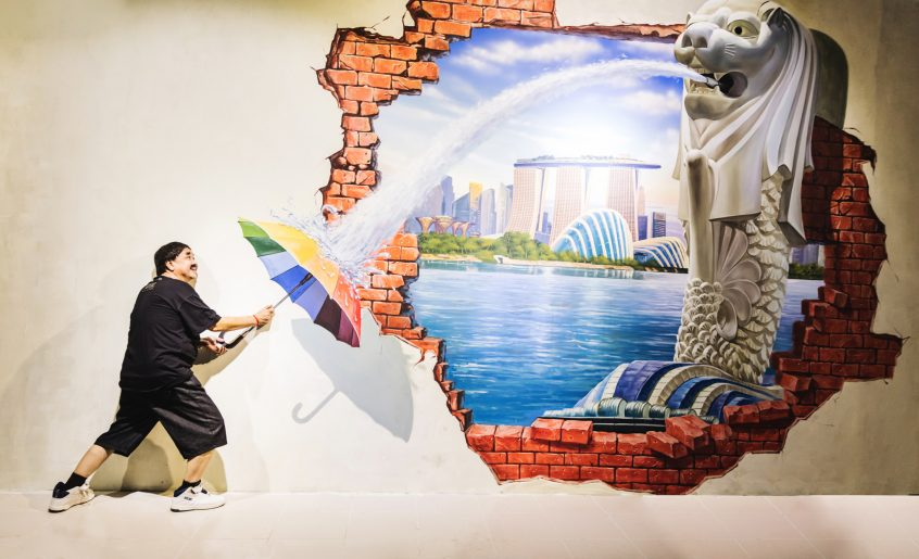 3D Art World Phnom Penh -Singapore